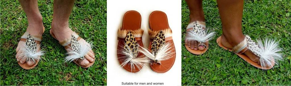 African And Zulu Shoes And Sandals